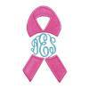 Breast Cancer Ribbon Mon Frame