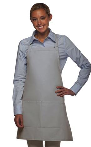 2 pocket apron gray