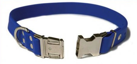 auburn all weather collar blue