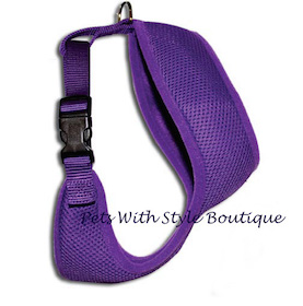 Breezy Mesh harness Purple