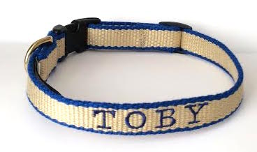 Bamboo narrow collar Toby