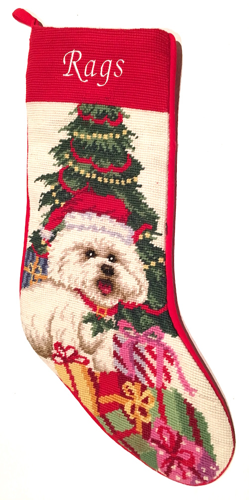 Embroidered Stockings Christmas