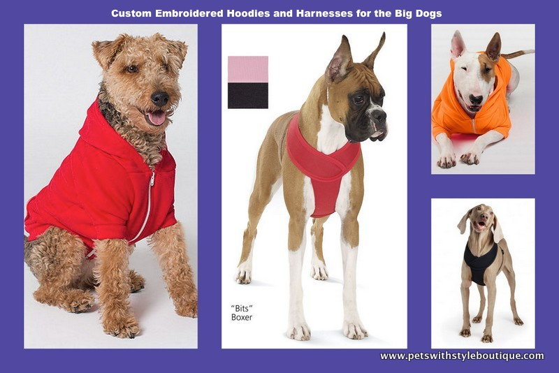 Big Dog Hoodies and Harnesses