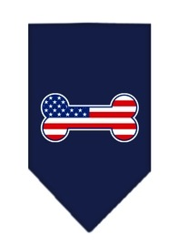 Bandana Bone Flag Navy