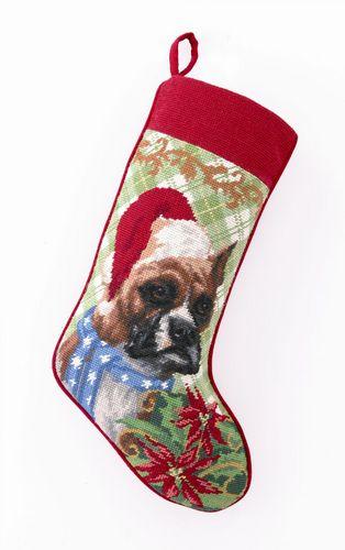 Personalized Needlepoint Christmas Stockings