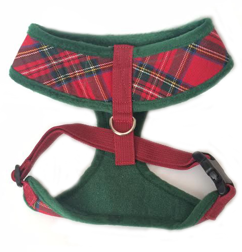 Royal Stewart Plaid harness back GRACIE curlz