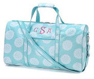 Duffel Bag Aqua Medallion