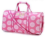 Duffel Bag Pink Medallion