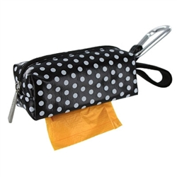 Black dots duffel