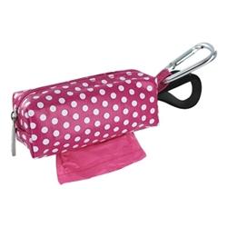 pink dots duffel