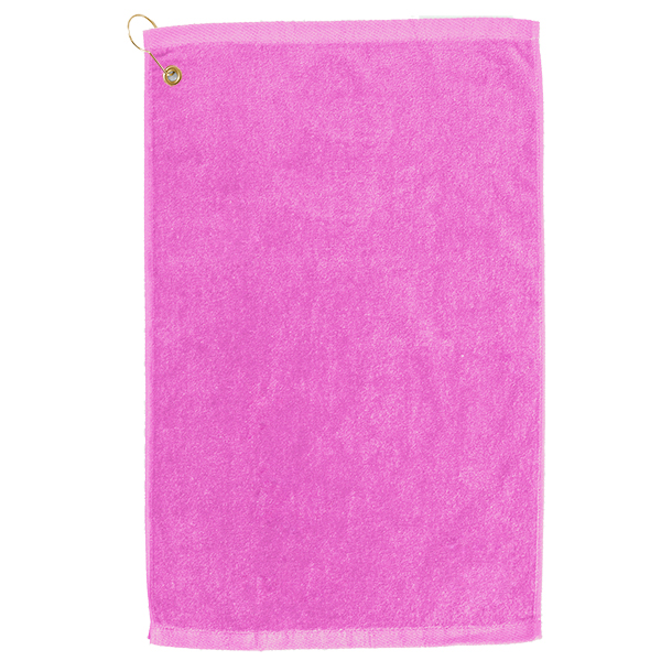 premium velour monogrammed golf towel