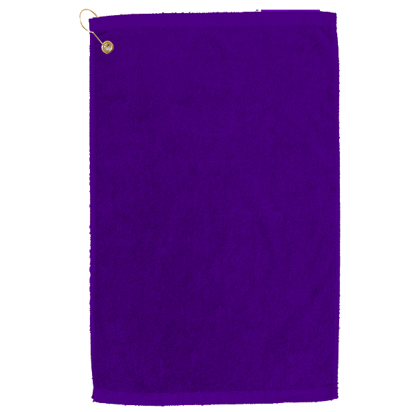 Golf towel Purple