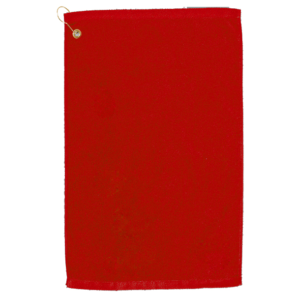 Golf towel Red