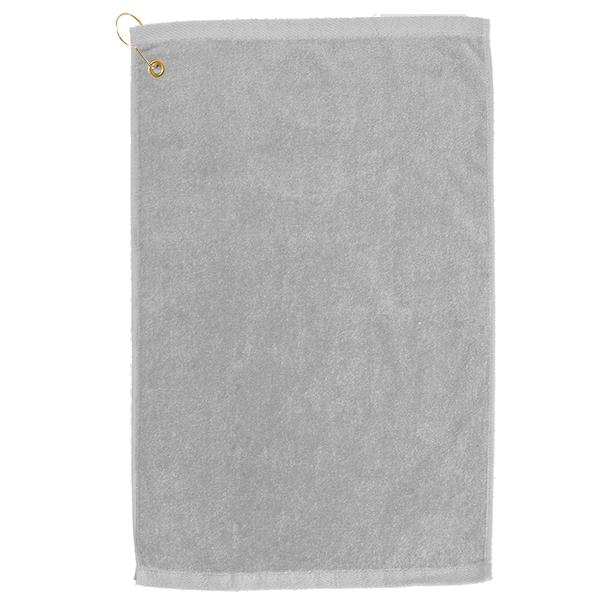 Golf towel Silver