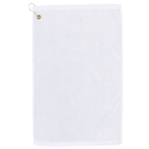 Golf towel White
