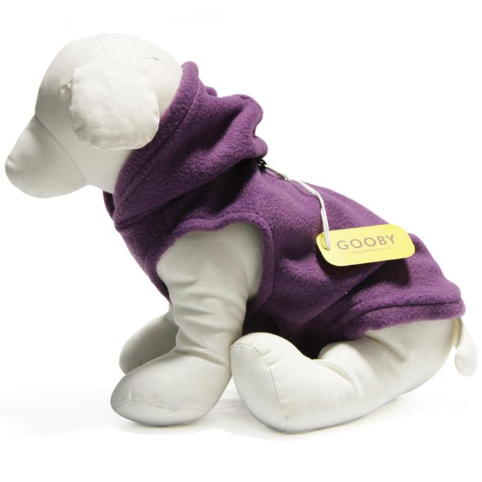 Gooby fleece hoodie purple