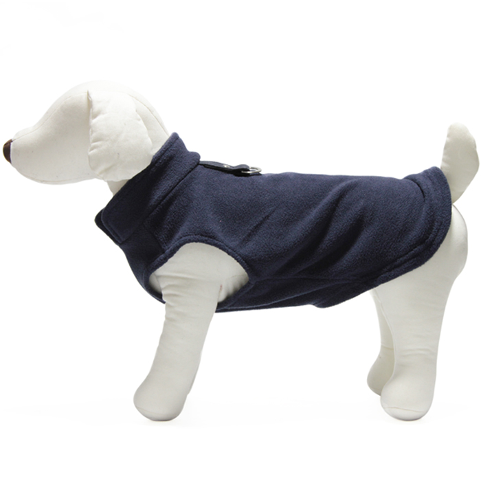Gooby Fleece vest Navy