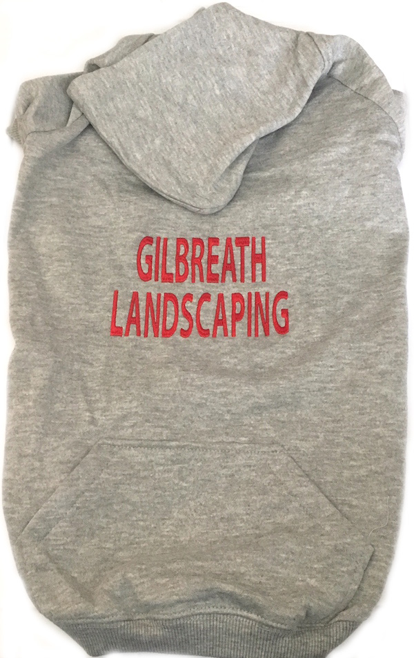GilbreathLandscapingGrayHoodie
