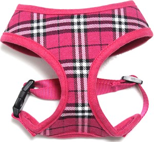 Hot Pink Plaid harness