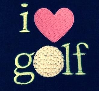 I Heart Golf Design