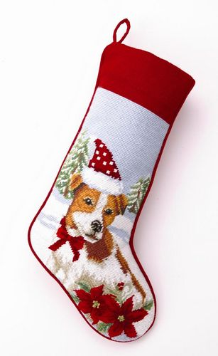 Christmas Needlepoint Stockings Personalized
