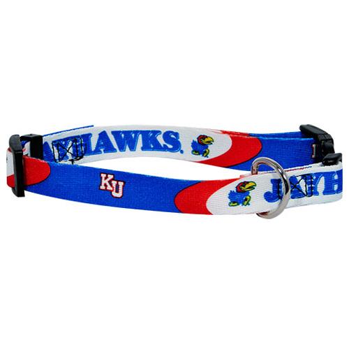 NCAA Kansas Jayhawks dog collar
