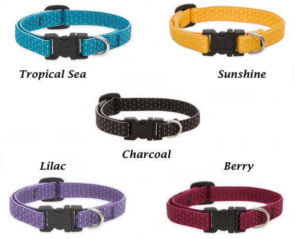 Eco Lupine Dog Collars - Made from Recycled Water Bottles