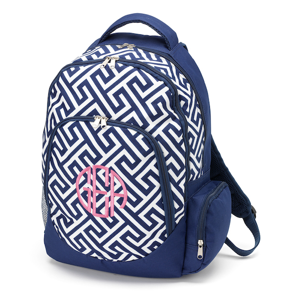 Personalized Backpacks Monogram or Name Small or Large Preschool