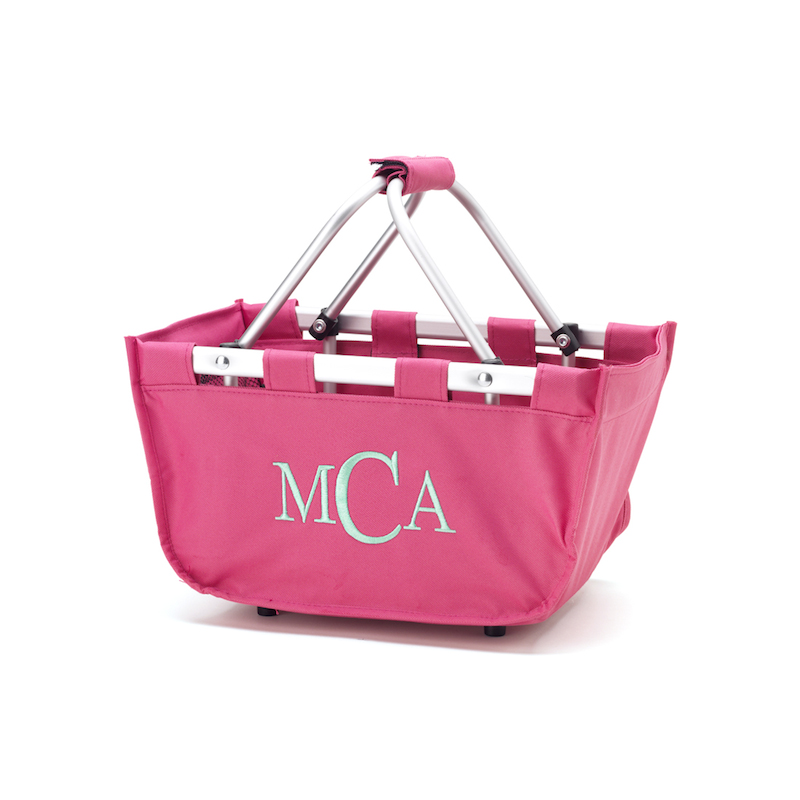 Mini Market tote Hot pink