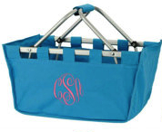 Market Tote Tropical Blue