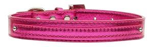 Metallic Pink Rhinestone Buckle