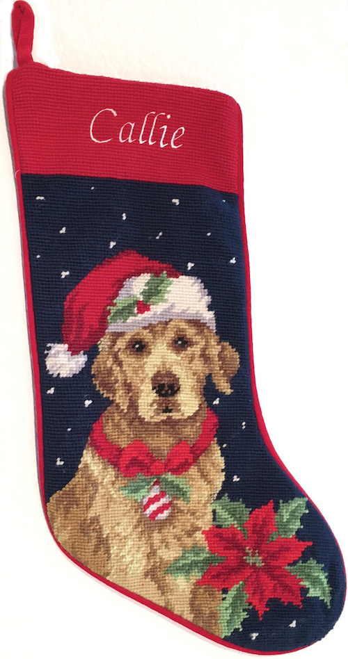 Personalized Christmas Stocking For Dogs