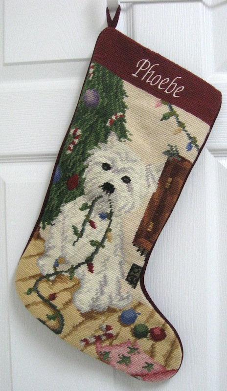 Dog Breed Christmas Stockings Personalized