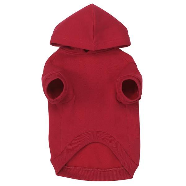 Red Hoodie underside