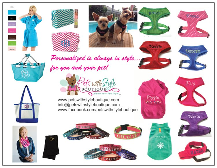 Pets With Style Boutique Catalog