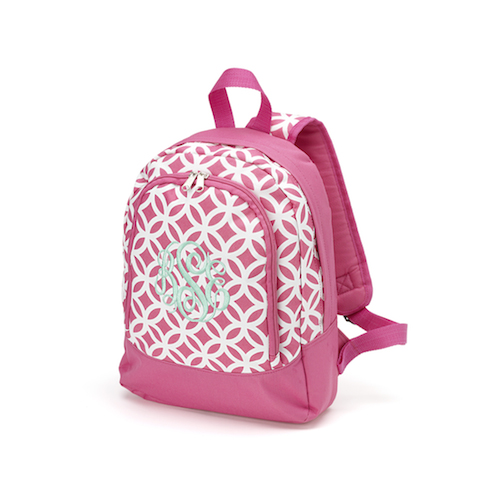 Pink Sadie Preschool Backpack