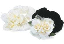 Rose Cuffs black or white