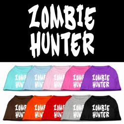 ZombieHunter shirt multiple colors