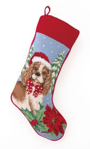 White Christmas Stockings Personalized