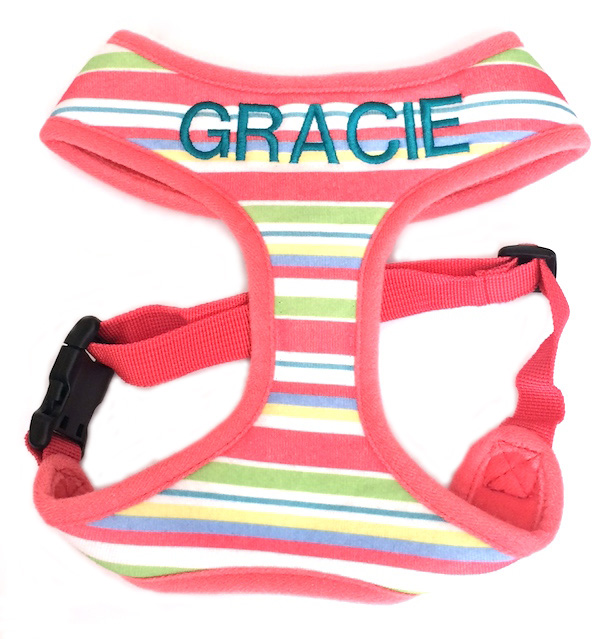Striped Harness GRACIE Coral