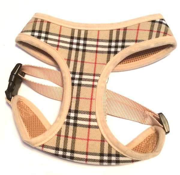 Tan Plaid Harness
