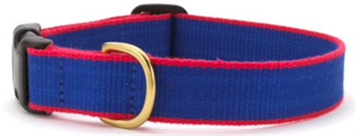 UpCountry Bamboo collar Royal Blue and Red