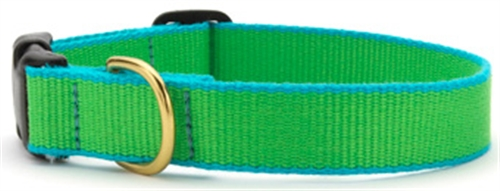 UpCountry Bamboo collar Lime Green and Aqua
