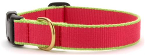 UpCountry Bamboo collar Pink and Lime