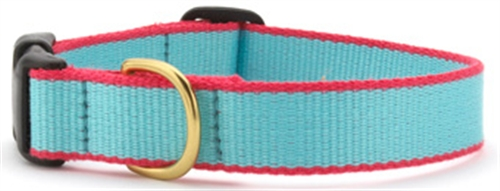 UpCountry Bamboo collar Aqua and Coral