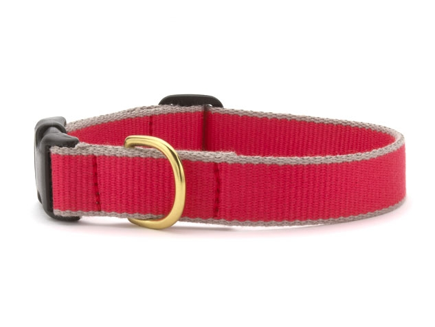Bamboo Red & Gray collar