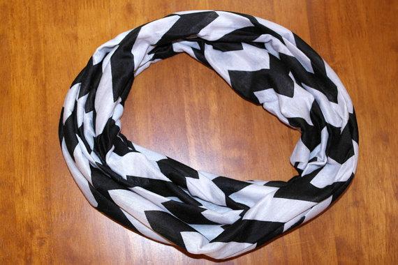 black chevron inf scarf