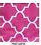 Hot pink pattern inf scarf