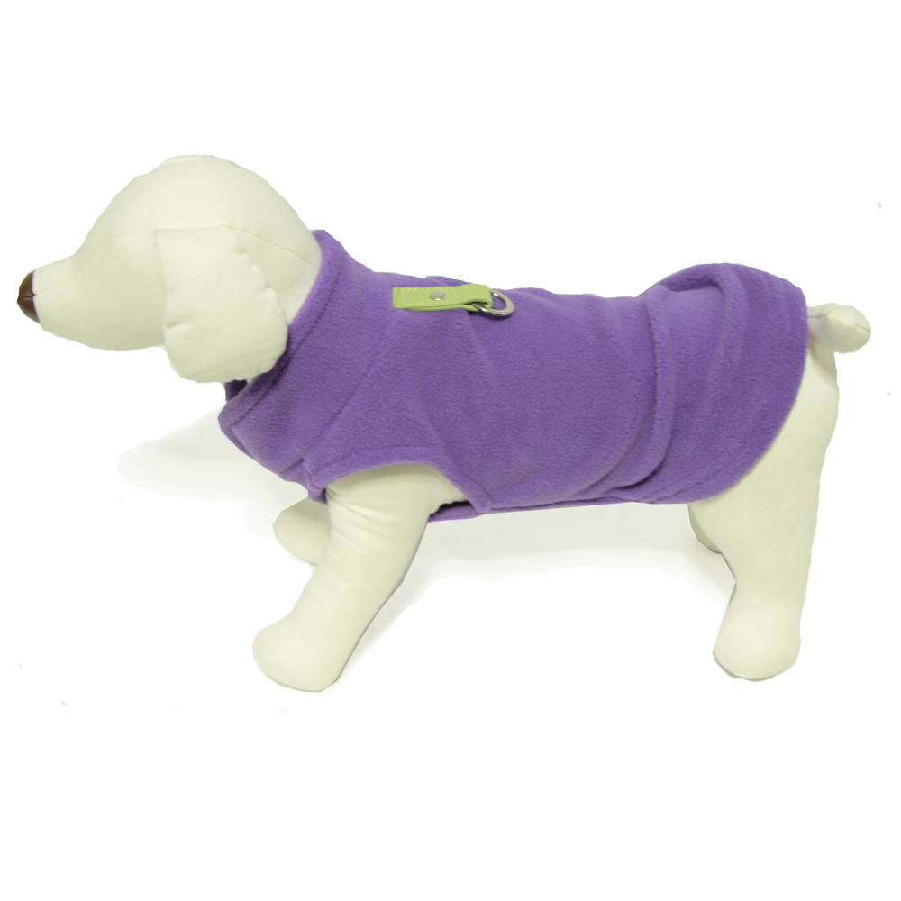 Purple Gooby harness vest