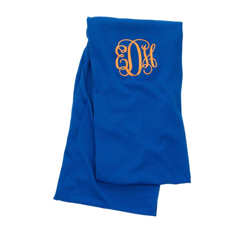 Royal Blue infinity scarf